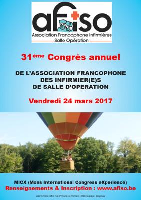 Les présentations du 31ème congrès annuel de l'AFISO en téléchargement