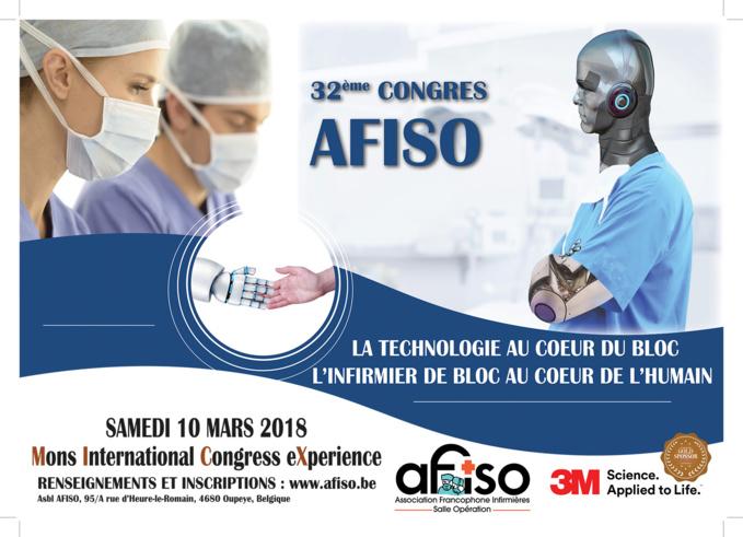 Samedi 10 mars 2018 - 32ème Congrès annuel de l'AFISO