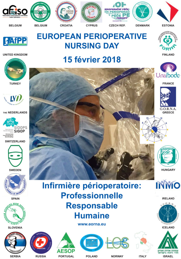 15 février 2018 : Journée européenne des infirmières de salle d'opération