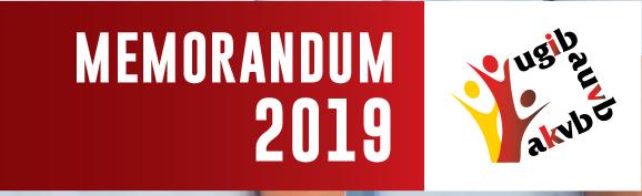 Mémorandum 2019 de l'UGIB