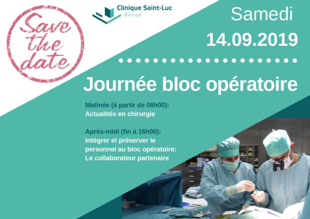 14 septembre - Journée des infirmières de bloc opératoire à Bouge (Saint-Luc)
