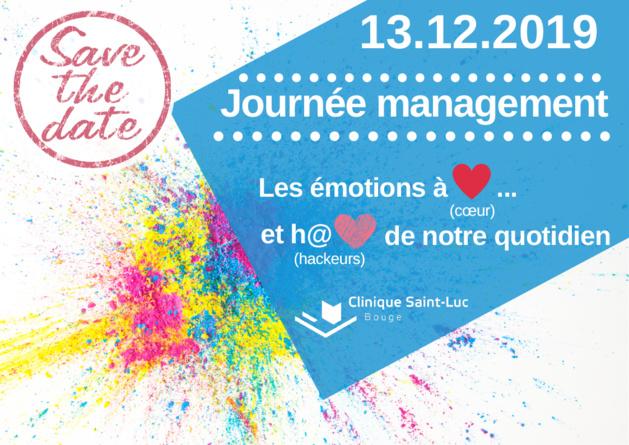 Vendredi 13 décembre - Journée management à la Clinique St-Luc de Bouge