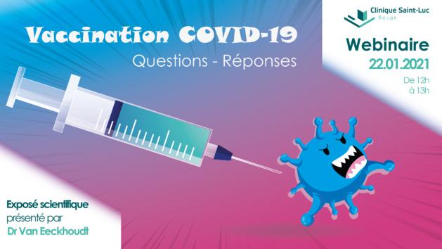Tout savoir sur la vaccination anti-Covid-19