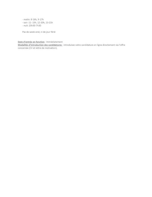 Le CHU Saint-Pierre (Bruxelles) engage un(e) infirmier(ère) bachelor ou SIAMU pour la salle de réveil (h/f /x) - CDI 38H (Réf 018-2021)