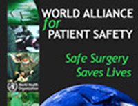 OMS : Une chirurgie plus sûre pour épargner des vies. L'EORNA s'associe ! Plus d'informations lors du Congrès de l'AFISO