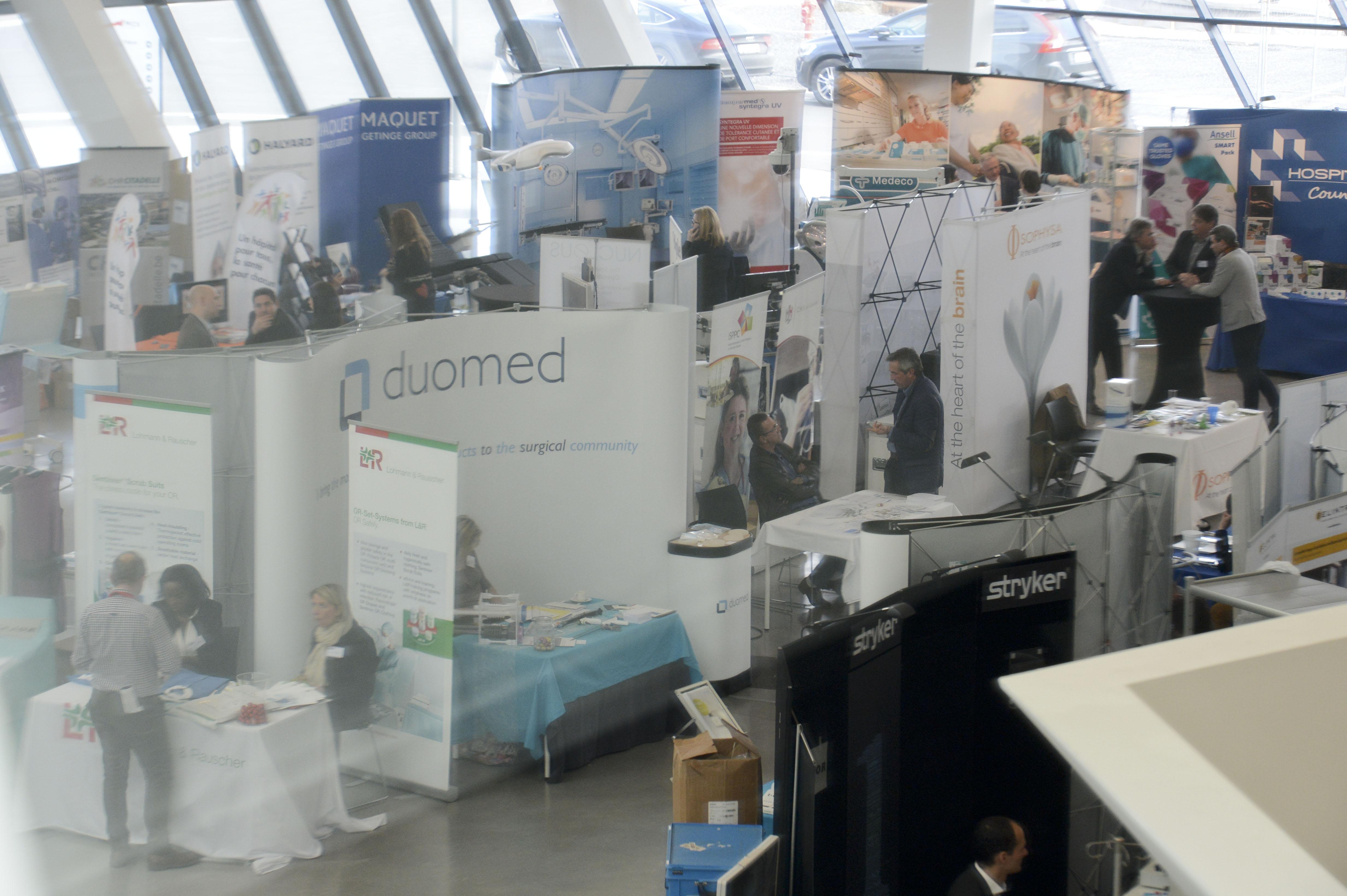 Congrès AFISO 2019 - Visiteurs Expo et stands