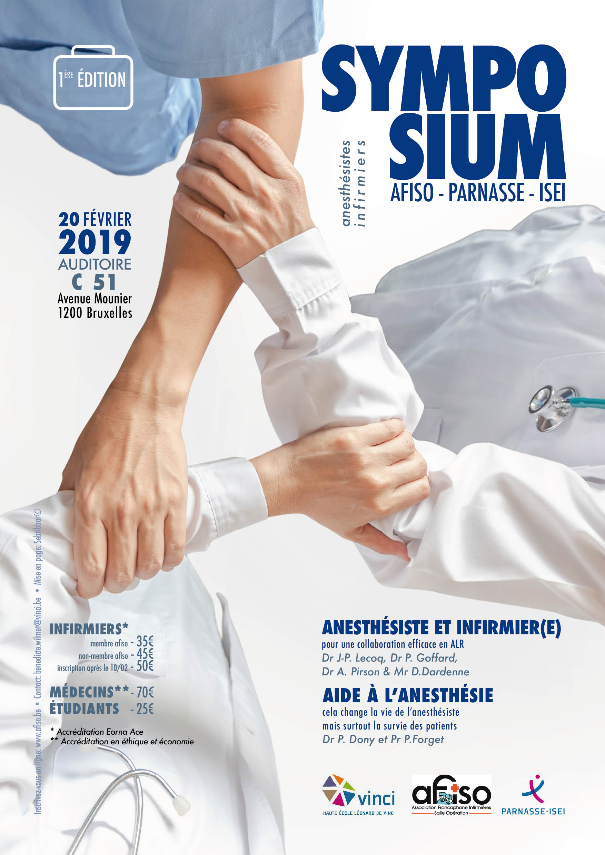 Mercredi 20 février 2019 - 1er Symposium AFISO - Parnasse ISEI