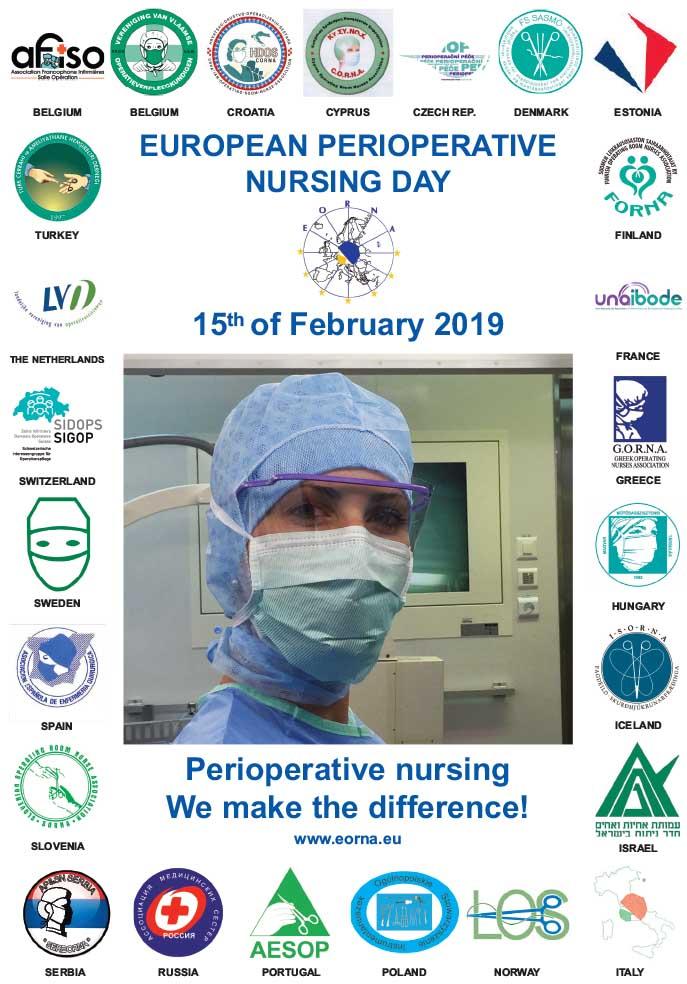 Vendredi 15 février - Journée européenne des infirmiers périopératoires (EORNA)