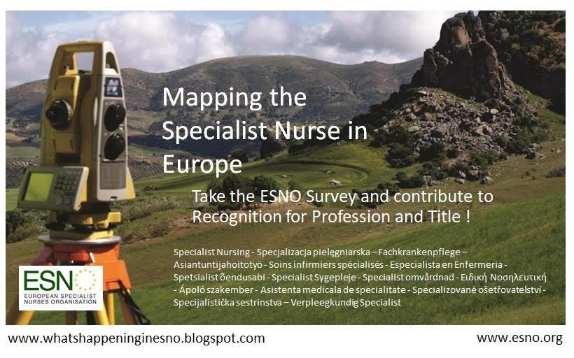 Enquête sur l'état des infirmières spécialisées en Europe (ESNO)