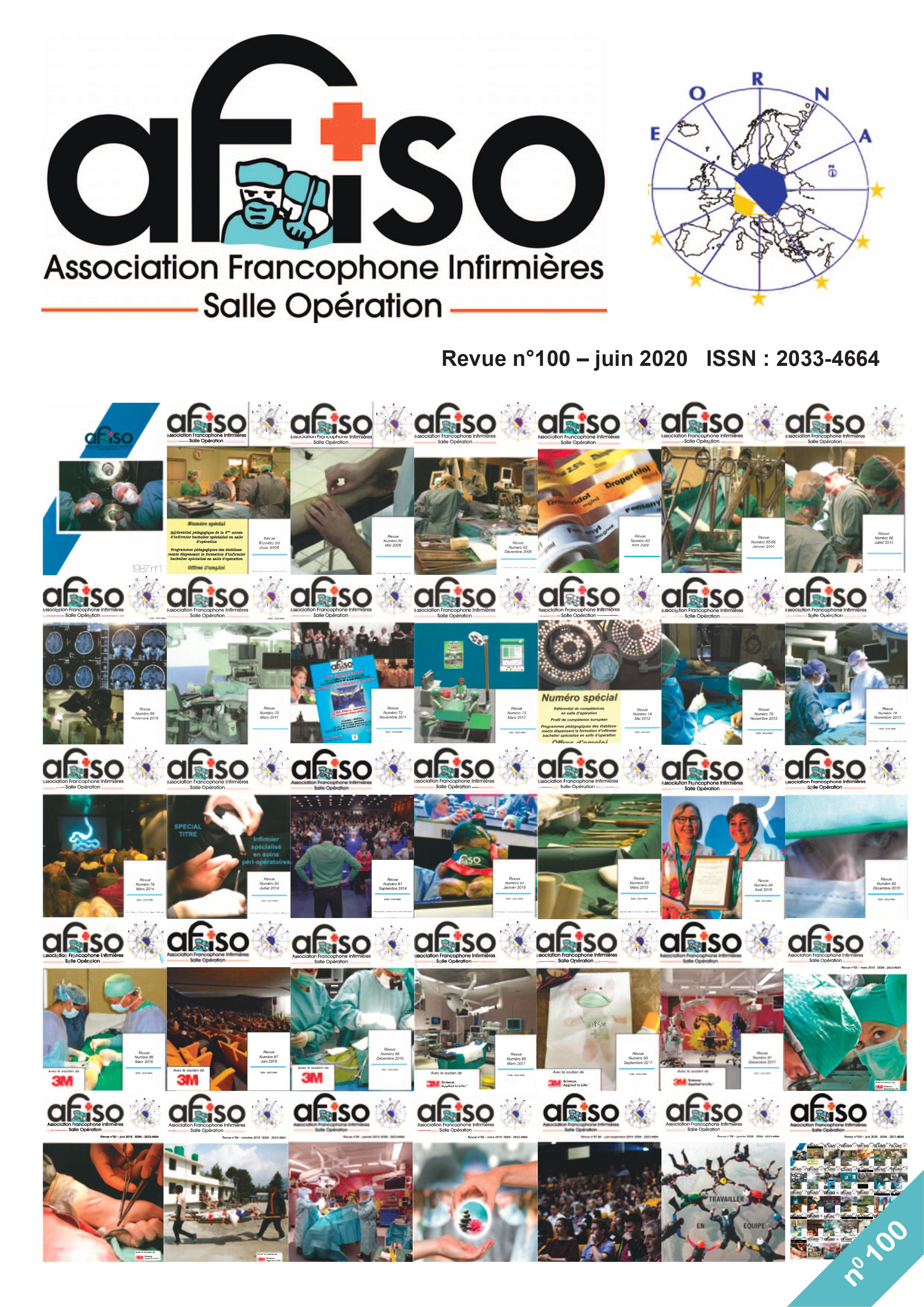 La Revue AFISO n° 100 est arrivée dans vos boites aux lettres